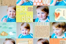 Crafts - Scrapbooking 1 pg layouts