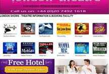 London Theatre Tickets / Welcome to London Theatre Tickets !