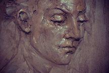 sculpture: relief