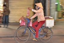 Les transports au Vietnam / Ah les transports au Vietnam...C'est bien connu, au Vietnam, on aime le vélo, oui, mais aussi la moto, le tuk tuk, le pousse pousse...Impossible de faire une liste non exhaustive des transports au Vietnam !