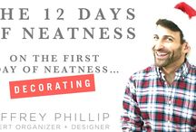 12 Days of Neatness - 2015 / Welcome to the 12 Days of Neatness, 2015 edition!  This year, I've decided to take my list to the world of video and mix things up a bit with some helpful holiday tips in addition to those neat gift ideas you know from my lists in years past. Please feel free to leave feedback, comment on each post, and share with your friends and loved ones! Happy Holidays and Merry Neatness, -jp.