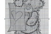 Cross Stitch Tatty Teddy