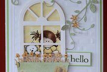 fence, window,doors / cards