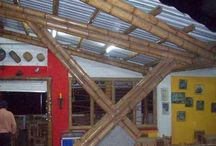 Artesanías y trabajos en guadua y bambú / Espectaculares imágenes de artesanías y otros trabajos elaborados en guadua y bambú.