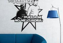 Star Wars Stickers Murali / Star Wars stickers murali (adesivi in vinile) per decorare la vostra parete. La più famosa delle saghe stellari: Rogue One, Episode VIII - The Last Jedi...