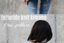 knitting large jumper