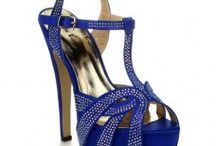 Blue High Heel Sandals / Blue High Heel Sandals