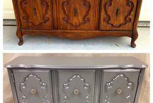 Vintage furniture makeover ideas / by Nunziatina Manuli