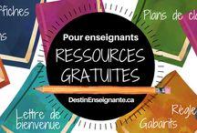 Ressources enseignants