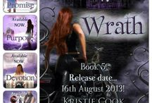WRATH Release ~ 8/16/2013 / Promise is FREE and now is a great time to catch up on the Soul Savers series before Wrath comes out!  HAPPY BIRTHDAY, KRISTIE!!! HAPPY ANNIVERSARY, TRISTAN AND ALEXIS!!!