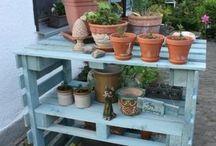 Garden potting shed ideas