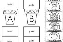 alphabet icecream