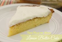 THM desserts / Delicious desserts that follow the Trim Healthy Mama plan