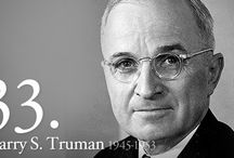 Harry S. Truman / 33rd U. S. President / by Patricia Milligan