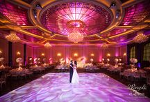 Featured Wedding: Aly & Chad / Fall in love with the elegant grandeur and personal touches of this Hollywood wedding. Enjoy! XO, 2 Rings & A Dress