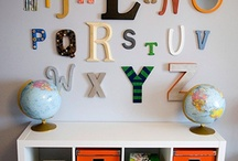 Kids ABC's & 123's Room / by Ashley Sullivan