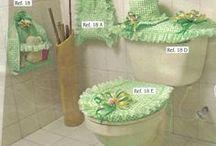 Bathroom crafts