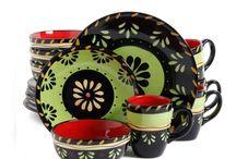 DISHWARE & POTTERY / Dishes, decorative dish ware & pottery, bowls, silverware, pots & pans, bake ware