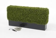 Artificial Boxwood Hedges / Yes, they really exist, we make each one by hand using premium quality artificial mats. The boxwood mats are unique, they are 5cm deep with a two-tone green and have miniature seed heads dotted about. We can make in any size, so don't think you are limited to the sizes we have on our website, just let us know your measurements and we will whizz a quote over.