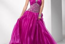 Blush, rose, pink dresses