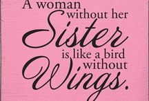 TO MY SISTER / Because u mean the world to me,