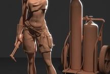 3D Brutal / Referencias de 3D que me parecen increiblemente brutales como para tomar referencias de trabajos jodidamente bien hechos