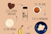 """My bottle  / Всякие крутые рецептики Так же напитки для """"my bottle"""" и всякое такое,ещё просто напитки"""