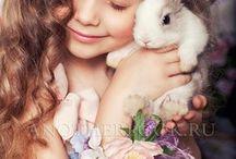 С животными