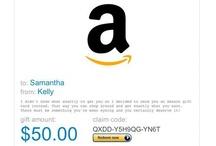 Amazon GIFT cards / by Tina Edison