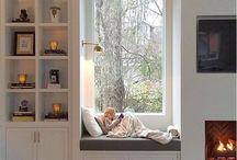 házba / olvasófülke, berendezési ötletek