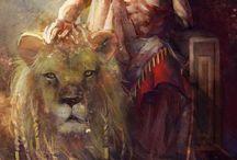 """Heroes of """"Mysos"""" / Foto, note, ispirazioni per gli eroi storico/mitologici presenti come personaggi nelle mie storie: Gilgamesh, Enkidu, Ur-Nurgal, Arthur, Mordred, Jeanne d'Arc"""