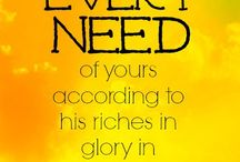 God shall supply every need