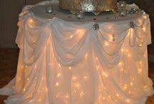 podświetlony stół