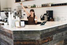 Small coffe shop design