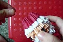origami kerstmis,RH