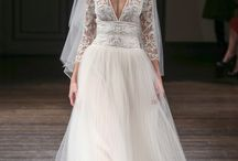 fall 2016 bridal trend : plunging necklines