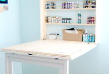 Craft Room Ideas / by Jessica Bashaw