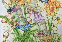 Zemlja Snova (Land of Dreams) & Vilin San / The art work of Tomislav Tomic in his fantasy inspired Croatian coloring books - Zemlja Snova and the follow up Vilin San released in December 2018