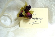 personalized gift tags / by Wrapsody & Ink