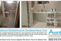 Bathroom Renovations by Avanti Plumbers