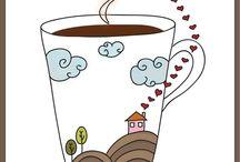 Čas na kávu nebo čaj