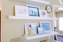 Kids' Art Displays / by samantha f.
