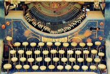Typewriters and Ink Wells / For the lover of typewriters and ink wells...