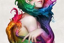 colour - rainbow