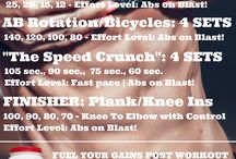 Ab Workouts / Put Your Abs On Blast With Body360's Hardcore Ab Routines & Circuits.  No Nonsense Here!