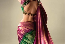 All designs that make a Blouse / ..and a few saris  / by Rads Kowtha