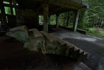 Sauersack Rolava / Tin Mine from Second World War / Rolava - Czech Republic.