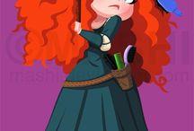 rebelle / meilleure princesse disney!!
