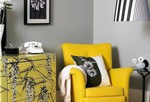 Yellow Rooms // / How to decorate your home in this sunshine shade