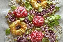 ribbons & lace embellishments